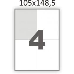 Самоклеющаяся бумага А4 (100 листов) /4/  (105x148мм.)