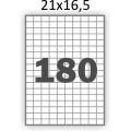 Самоклеющаяся бумага А4 (100 листов) /180/  (21x16мм.)