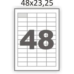 Самоклеющаяся бумага А4 (100 листов) /48/  (48x23,25 мм)