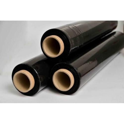 Стретч-пленка, цвет -черный, 20 мкм. (217 м.)
